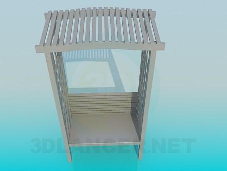 3d model Garden bench - preview
