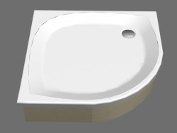 Shower tray 80 ELIPSO EX