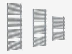 Heated stainless steel radiator Elen