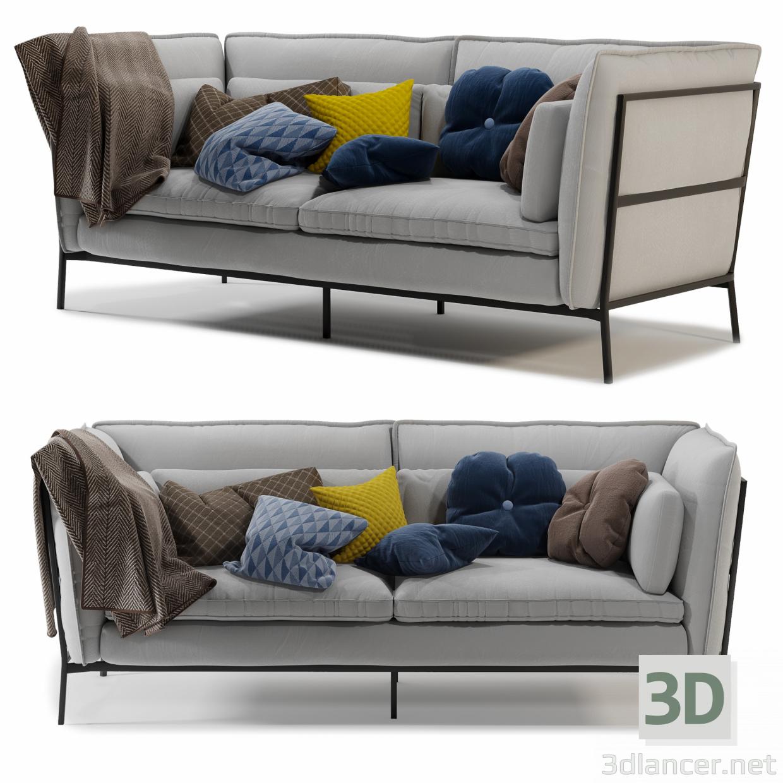 3d Cappellini BASKET 011 sofa model buy - render