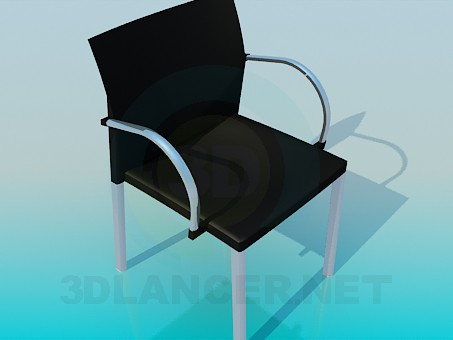 3d модель Стілець в офіс – превью