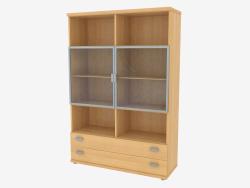 Центральный элемент мебельной стенки (490-53)