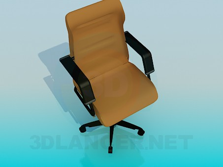 3d modeling Armchair for the chief model free download