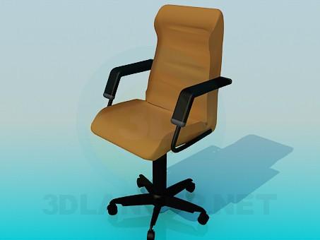 3d модель Крісло для начальника – превью