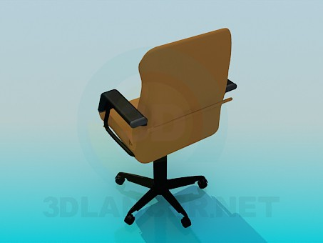 3d модель Кресло для начальника – превью