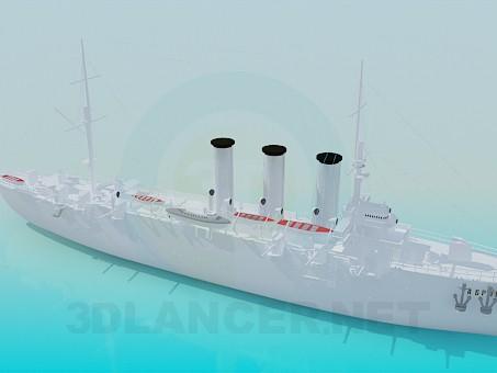 3 डी मॉडल बड़ा जहाज़ - पूर्वावलोकन