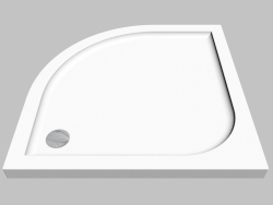 Pallet semicircular 90 cm Cubic (KTK 051B)