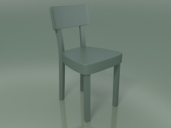 Powder-coated chair made of cast aluminum, outdoor InOut (23, ALLU-SA)