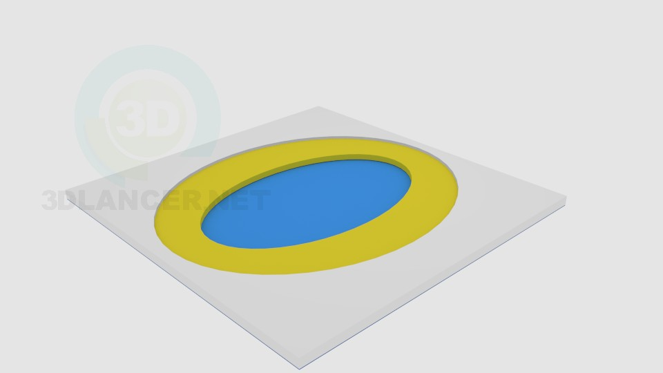 descarga gratuita de 3D modelado modelo Decoración techo 3