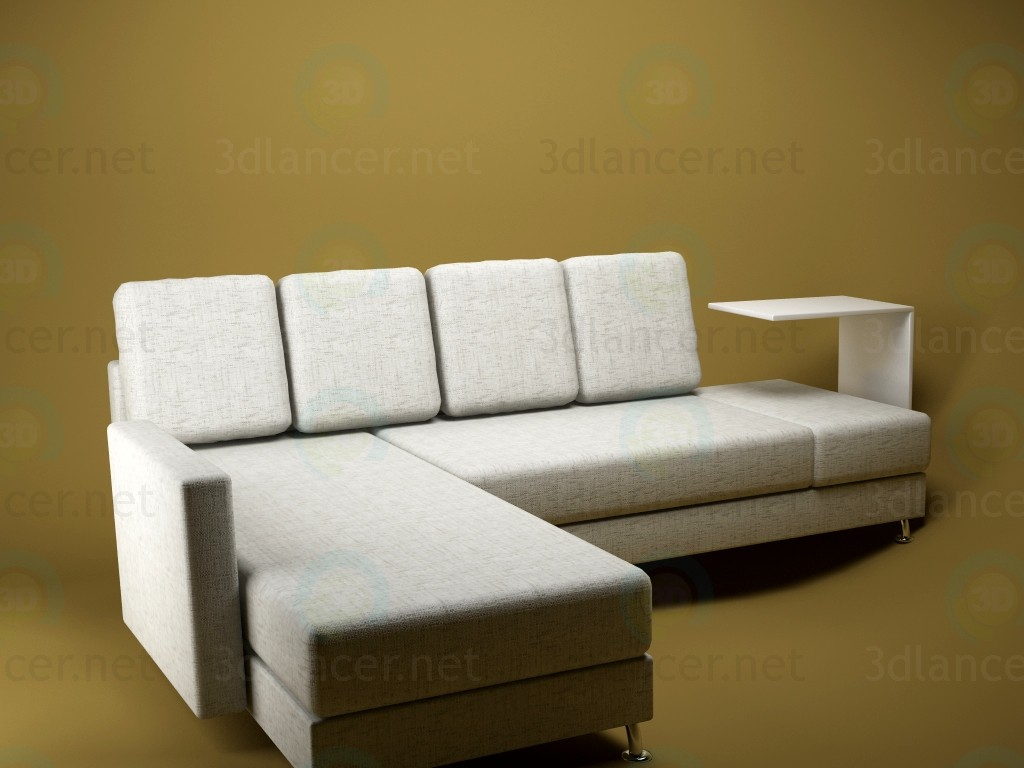 3d model sofa id 11646 for Sofa 3d model