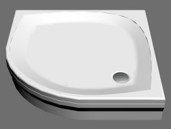 Shower tray 90 ELIPSO PAN