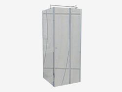 Cabin square 80 cm Cubic (KTI 044P)