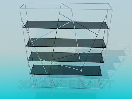 3d modeling Shelving model free download