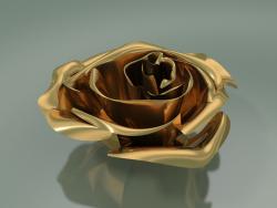 Decor Element Rose (D 10cm, Oro)