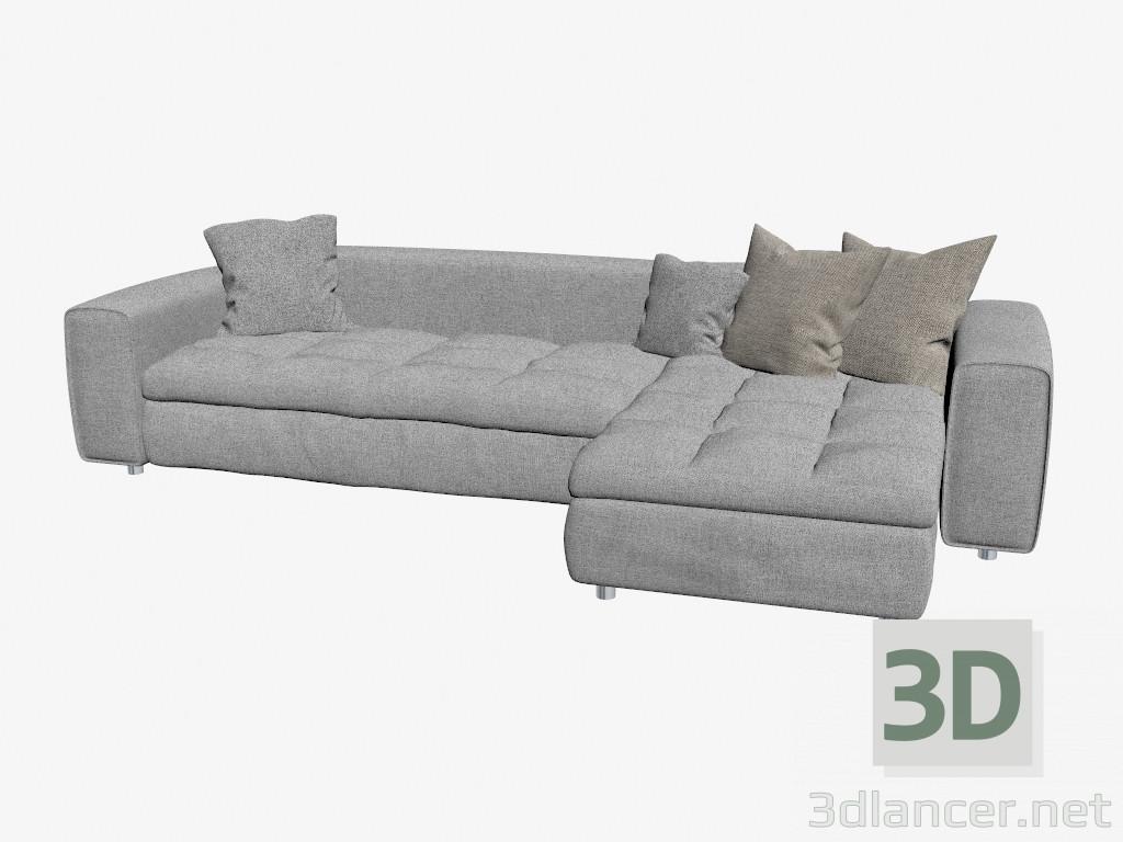3d model Corner sofa SENNA - preview