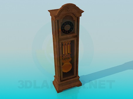 3d modeling Clock model free download