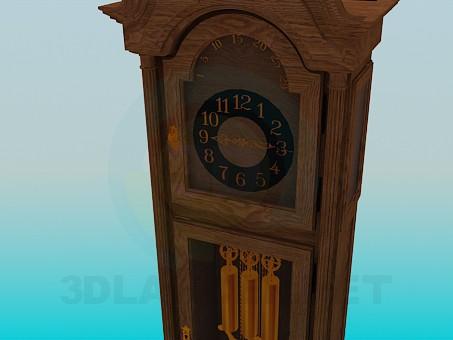 3d model Clock - preview