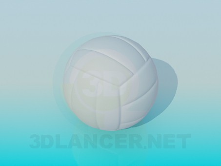 modèle 3D Volley-ball - preview