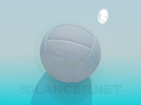 3d model Volleyball - preview