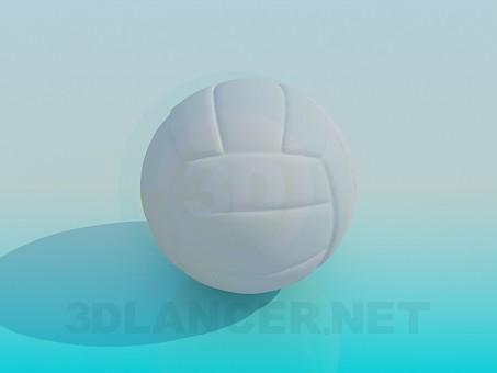 3d модель Волейбольний м'яч – превью