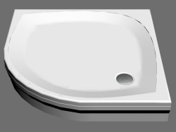 Shower tray 100 ELIPSO PAN