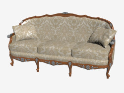 Triple Classical Sofa