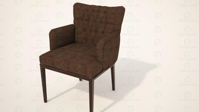 3d моделирование Стул Кресло модель скачать бесплатно