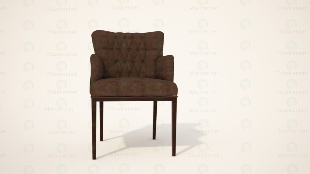 3d model Chair Armchair - preview