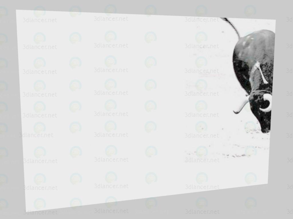 3d model Graphics Bull VOX - preview