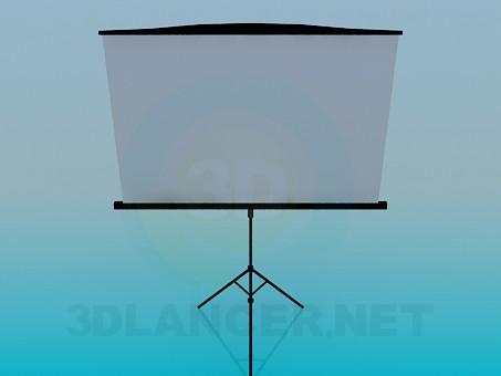 3d model Tablero - vista previa