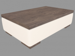 Coffee table with sliding table top (108x68x30)