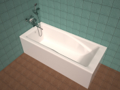 Roca Hall bath