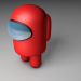 3d model among us - preview