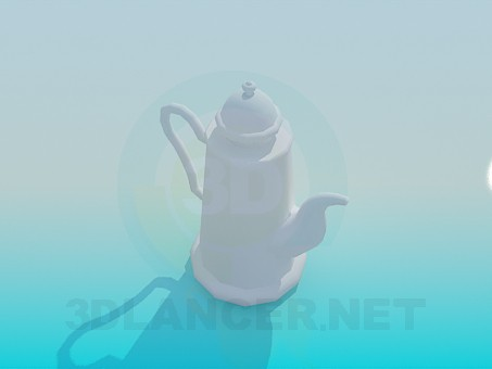 3d model Kettle for tea - preview
