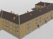 Three-storey building 1-353-5 with KBO premises