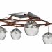 3d Chandelier loft model buy - render