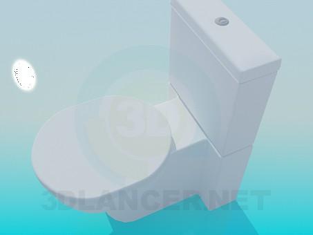 modelo 3D Baño de diseño moderno - escuchar