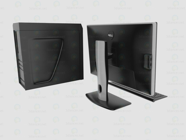 Настільний комп'ютер PC 3d модель купити - рендер
