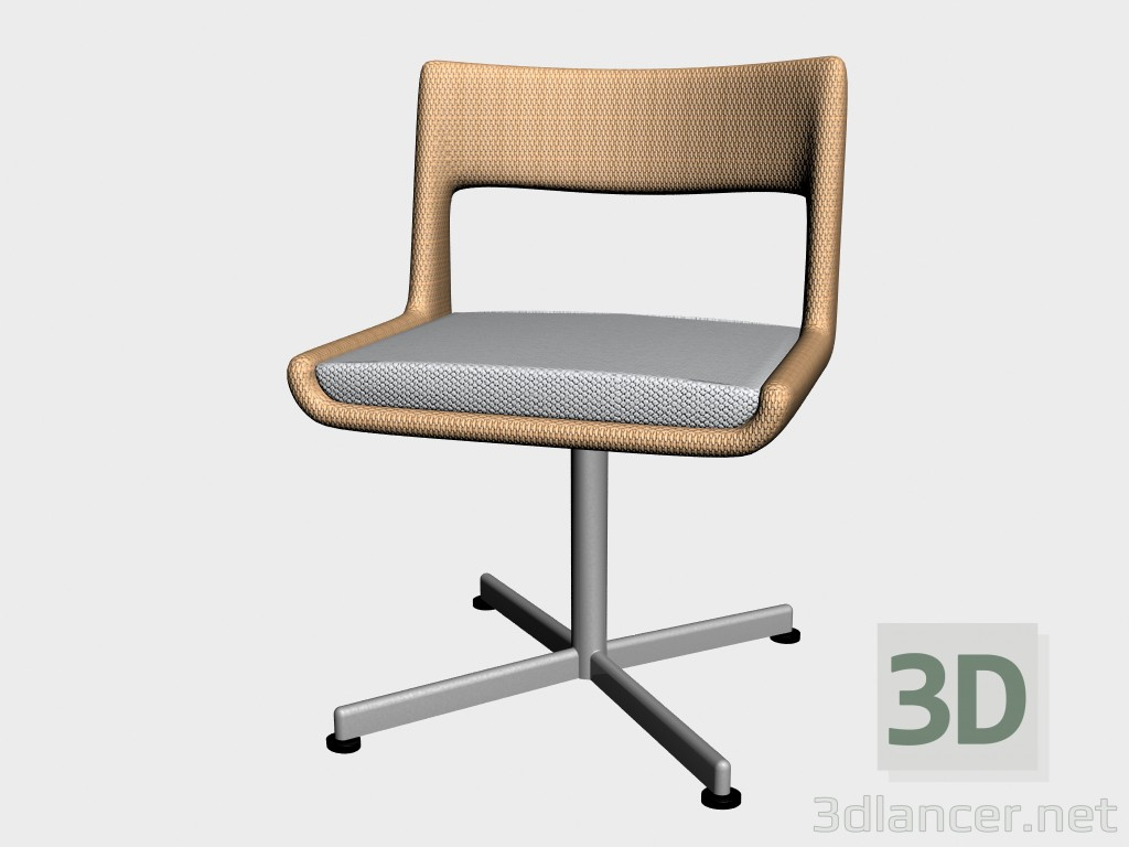 3d model Chair dining Dinning Chair Swivel 8811 8815 - preview