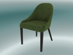 Mezza sedia Edgar (verde)