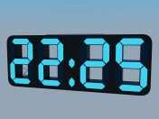Electronic desk clock