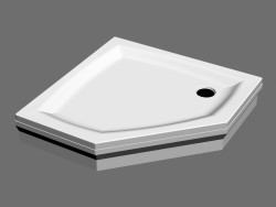 Shower tray GENTA 90 PAN