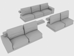 Sofa elements modular MATISSE