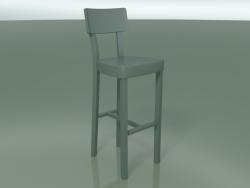Powder coated cast iron bar stool, outdoor InOut (28, ALLU-SA)
