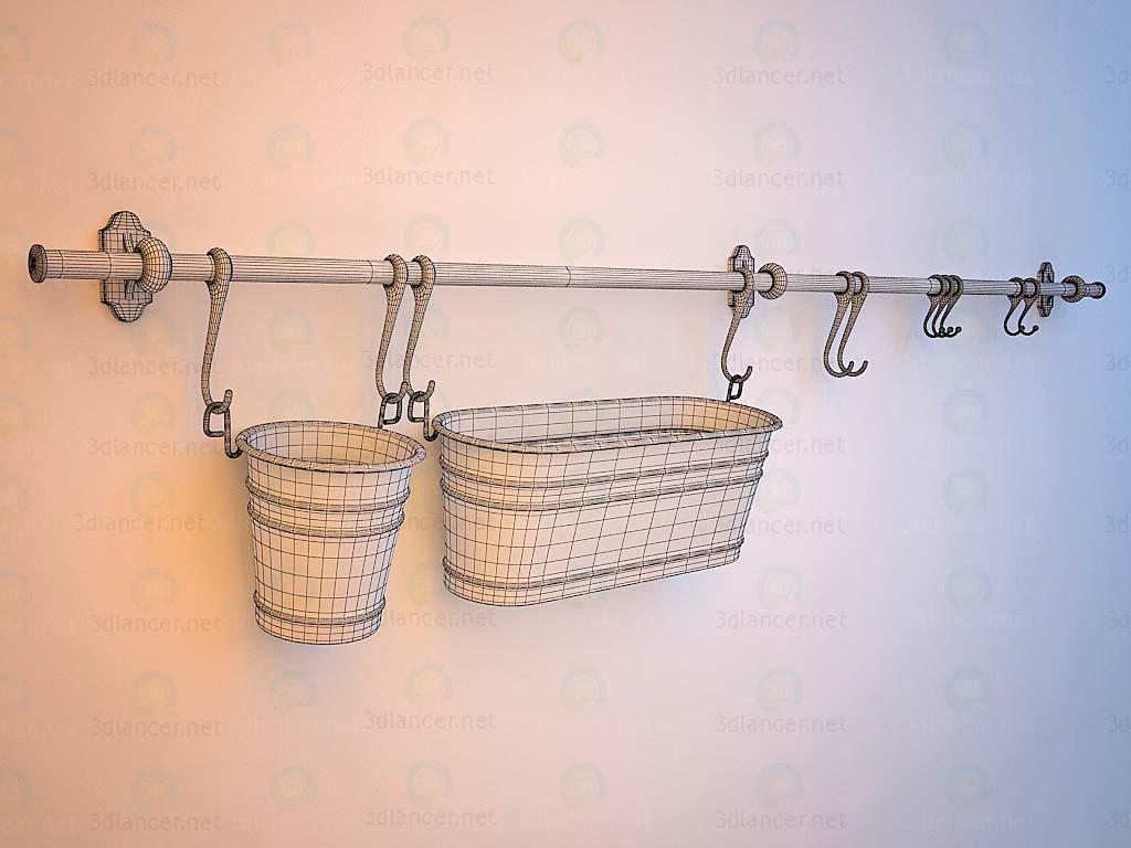 modelo 3D IKEA Riesling - escuchar