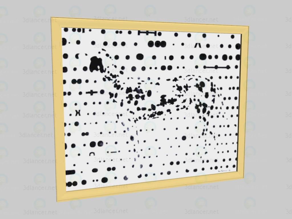 3d модель Изображение Далматинчик – превью