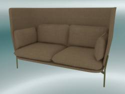 Sofa Sofa (LN6, 90x180 H 115cm, Bronzed legs, Hot Madison 495)