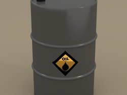 Barrel of oil barrel