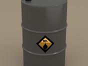 Barrel of oil barrel