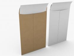 Envelope com papel